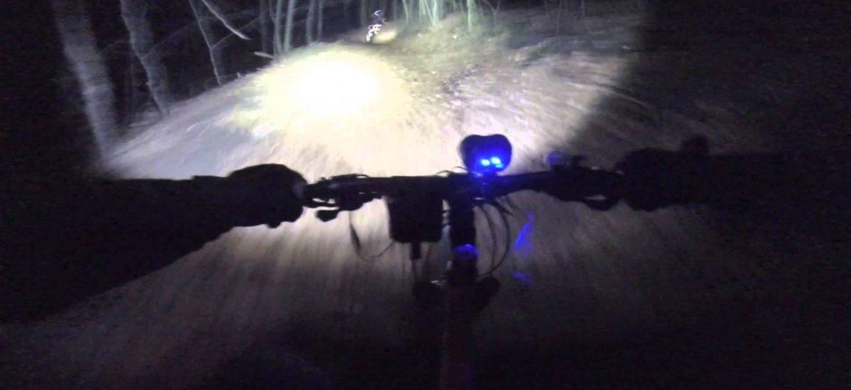 bike green night riding